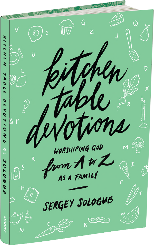 Kitchen Table Devotions book cover
